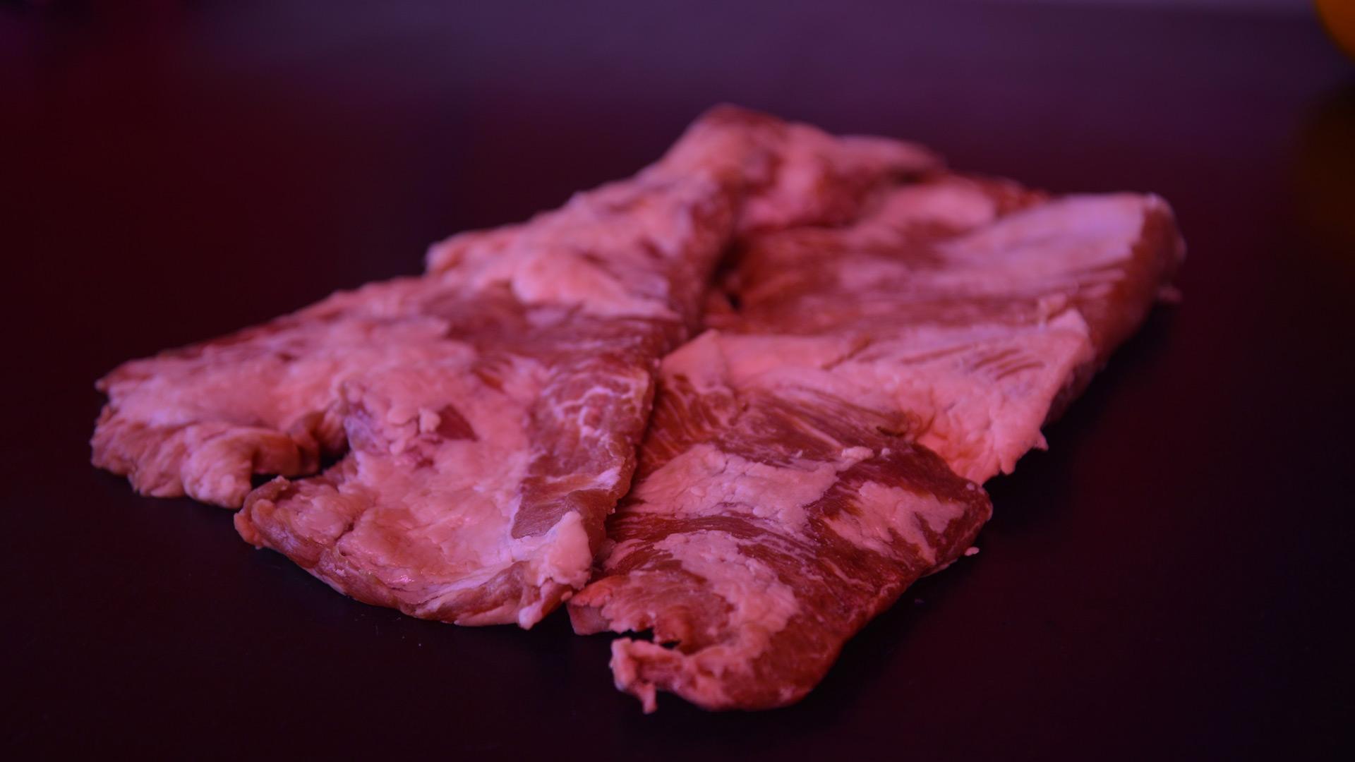 Secreto cerdo ibérico carnicería Sastre Ávila